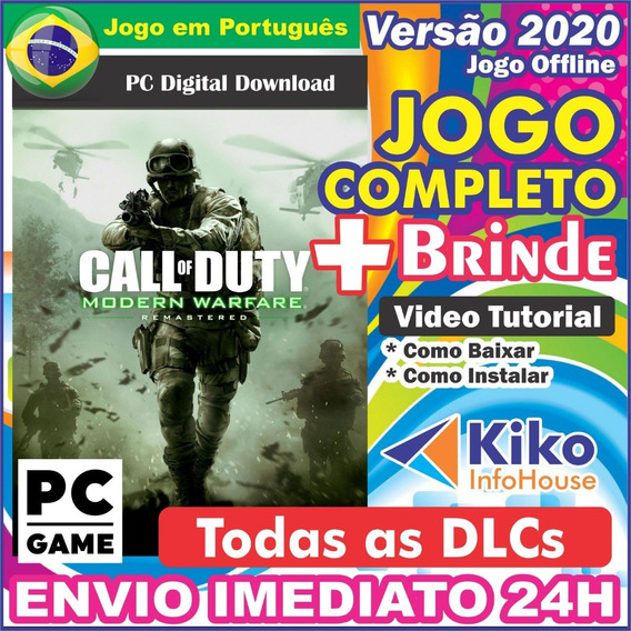 Call Of Duty Modern Warfare Remastered Pcdigital Br + Brinde