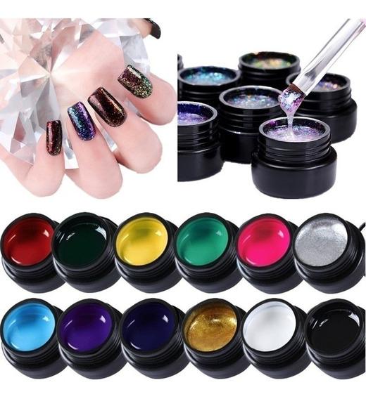 Gel Painting Sugar Ur Pintura Unas Uv/led Nail Carving Nail
