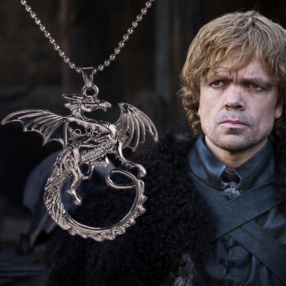 Colar Dragão Tyrion Games Of Trones Hobbit