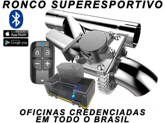 Escapamento Esportivo De 2 Ford F-1000 Com Bluetooth