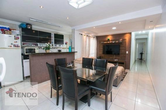 Apartamento 72 M² - 3 Dormitórios - 1 Suíte - Vila Humaitá - Santo André/sp - Ap0812