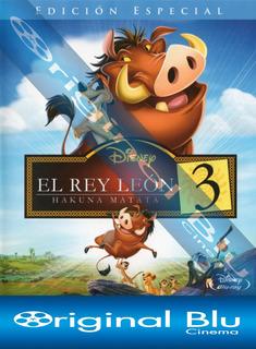 El Rey León 3 Hakuna Matata - Blu Ray Original - Almagro