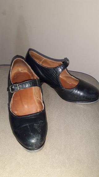 Zapatos De Tap (infantil) Nro. 29. Cuero.