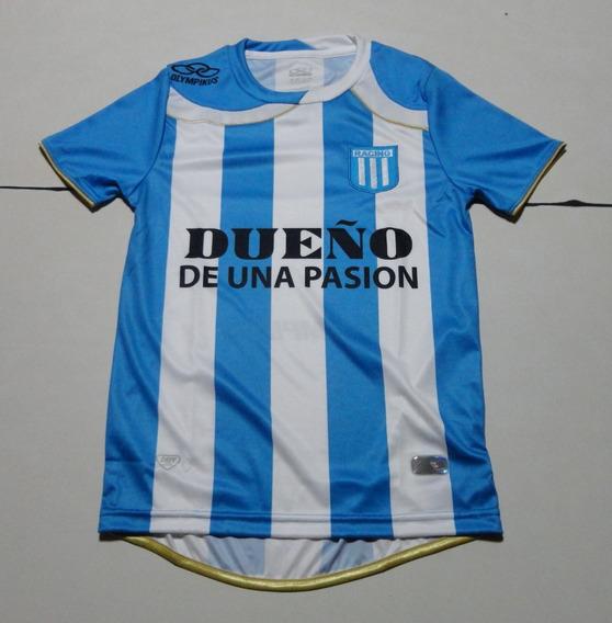 Camiseta De Racing Marca Olympikus, Talle 12