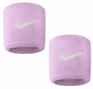 Par De Munhequeira Pequena Swoosh Rosa Ref: Nim014 Nike