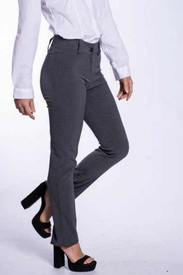 Pantalon De Vestir Gris Invierno Mujer Mercado Libre Argentina