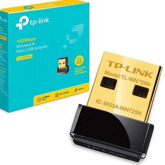 Adaptador Wireless Tp-link 150mbps Tl-wn725n Nano Usb