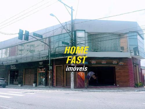 Imagem 1 de 12 de Salão Comercial Para Locação, Vila Galvão, Guarulhos. - Sl0113