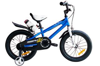 Bicicleta Niña Niño Infantil Royal Baby Freestyle Rodado 16