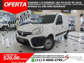 Renault Kangoo Express 1.6 Hi-flex Completa C/ Porta Lateral