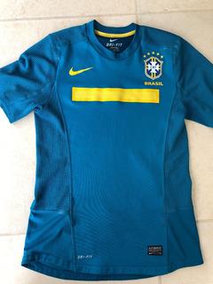 Jersey Brasil 2010 Nike Talla M Code 7 Lasser Holes Match