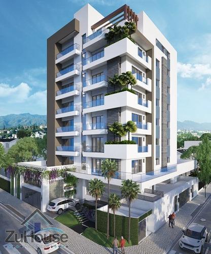 Imagen 1 de 7 de Apartamento En Plano En Torre Inteligente, Santiago Wpa127 C