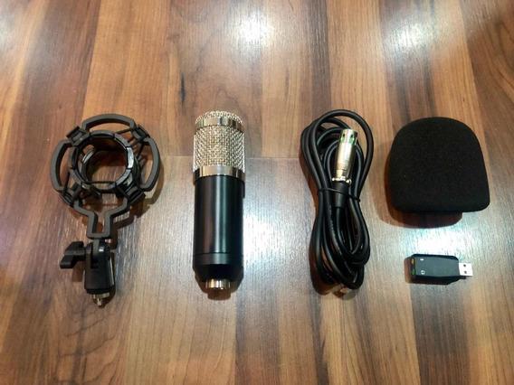 Microfone Profissional Condensador Youtuber.
