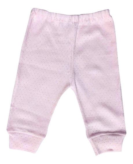 Pantaloncito C/puño Bebe Jersey Calado 100 % Algodon