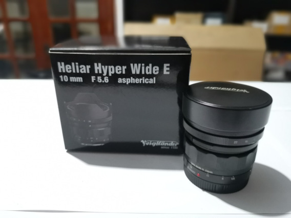Lente Sony Fe Voigtlander 10mm Ultra Angular A7 R S Ii Iii A7r A7s