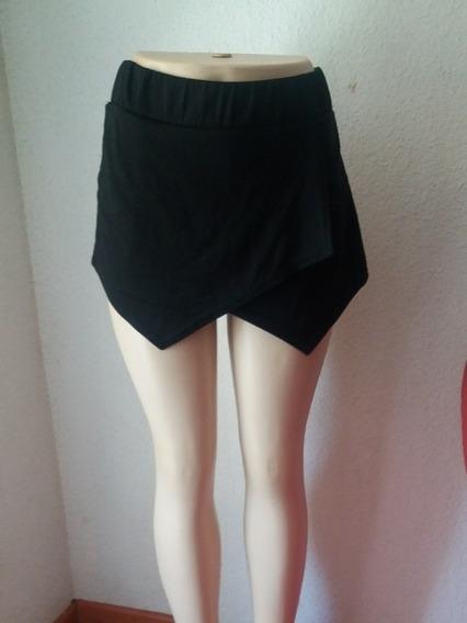 Falda Short Mujer Elasticado