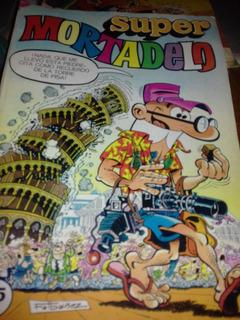 Revista Super Mortadelo Numero 131 ,bruguera ,españa 1982.