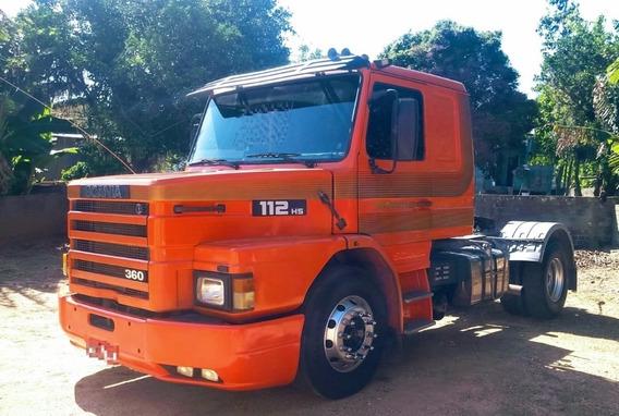 Scania 112 4x2, Bem Conservado, Trabalhando