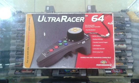 Controle Ultra Racer 64 - Original Nintendo 64 Usado