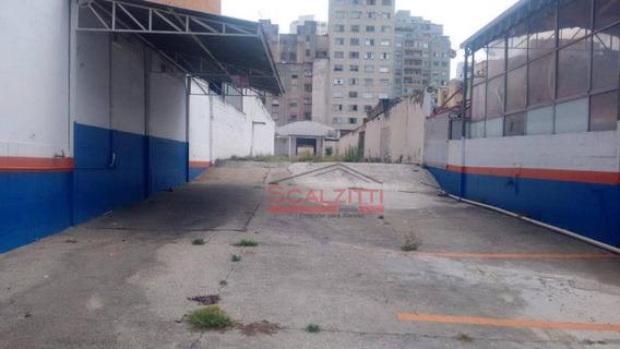 Terreno Para Alugar, 1000 M² Por R$ 11.000/mês - Barra Funda - São Paulo/sp - Te0017