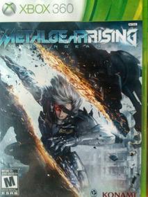 Metal Gear Rising Xbox 360 Original , Leia A Descrição