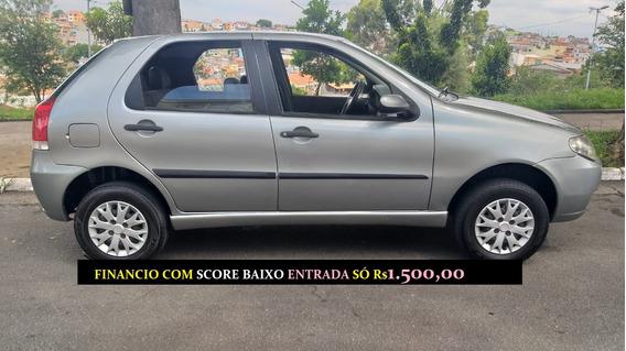 Fiat Palio Fire 4 Portas Financiamento Com Score Baixo Uno