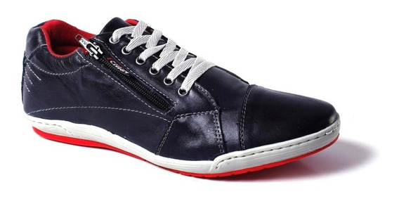 Sapatênis Masculino Couro Identico O Ferracini - Tchwm Shoes