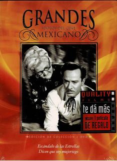 Dvd 10 Películas Original Grandes Ídolos Del Cine Mexicano