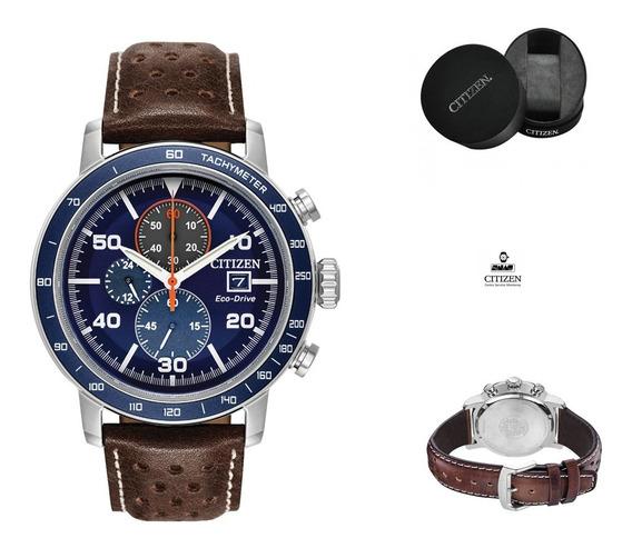 Reloj Citizen 61096 Ecodrive Ca0648-09l Hombre Correa *watchsalas Full