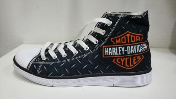 Tênis Rock Harley Davidson - All Star Style - Ropapreta