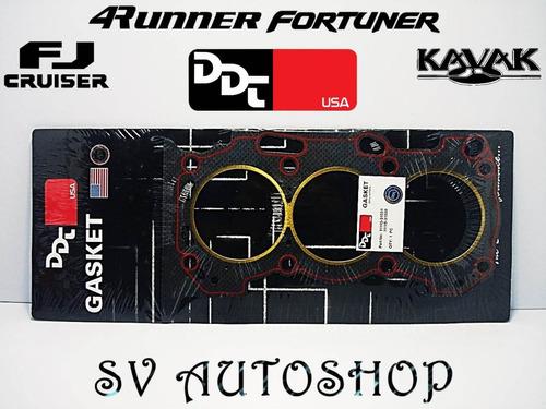 Empacadura Camara Toyota 4runner Fortuner Fj Hilux Kavak 4.0