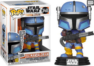 Funko Pop Star Wars #348 Mandalorian Heavy Infantry Nortoys