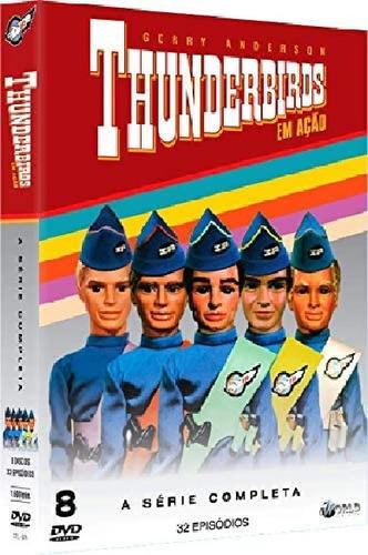 Box Dvd Thunderbirds - A Série Completa