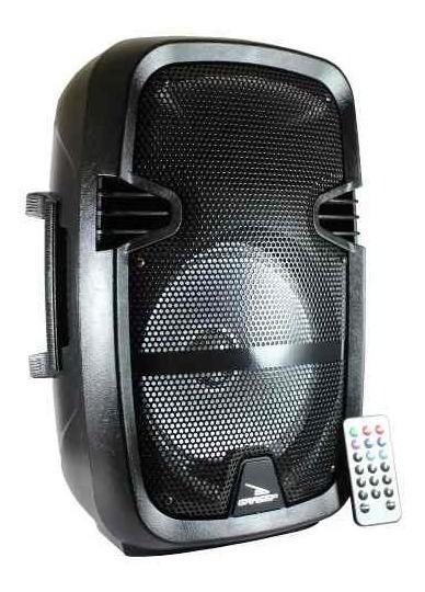 Caixa De Som Bluetooth Com Microfone Portatil Usb P10 Fm Sd