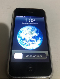Apple iPhone 1a Geração 8gb A1203 Funcionando Colecionador