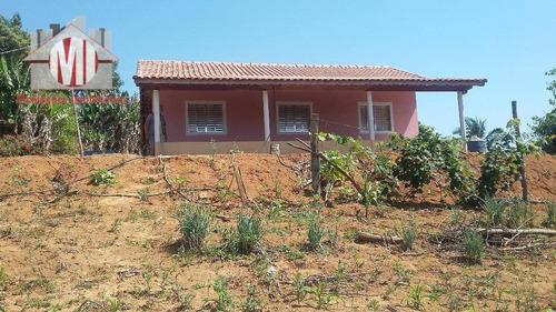 Chácara Com Pomar Formado, Pertinho Da Cidade, Linda Vista. 03 Dormitórios À Venda, 2500 M² Por R$ 280.000 - Zona Rural - Pinhalzinho/sp - Ch0178