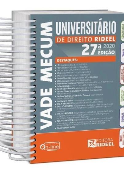 Vade Mecum Universitario De Direito 2020 - Espiral - Rideel
