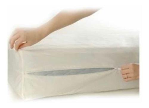 Protector Para Colchón Impermeable- Antifluido 190x90x10 Cm