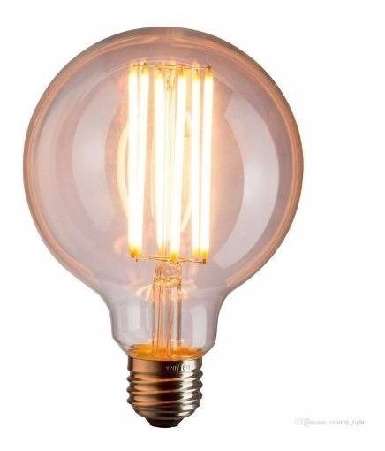 Lâmpada Retrô Filamento De Carbono G125 110v 60w E27 - Kian
