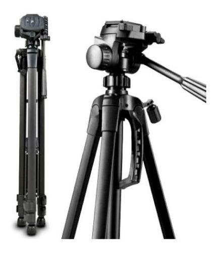 Tripé Camera Fotográfico Profissional Nikon Canon 1,80 Mt