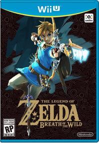 Zelda Breath Of The Wild - Jogo Wii U Digital Pronta Entrega