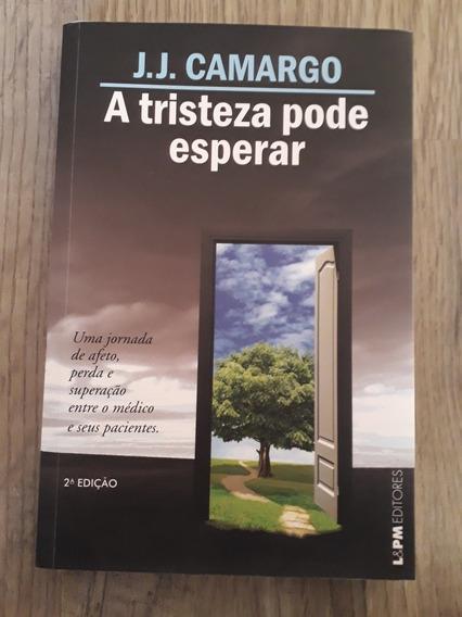 Livro A Tristeza Não Pode Esperar Camargo - Auto Ajuda Drama