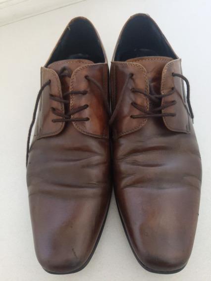Zapatos Aldo Hombre Talle 9 L 42 Impecable Estado Marrones