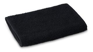 Toalla Facial Barbero Negra 100 % Algodon 60 Cm X 40 Cms