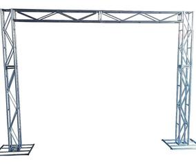 Treliças Kit Trave Box Truss Q20 Aço 2.50x3m. Stfer
