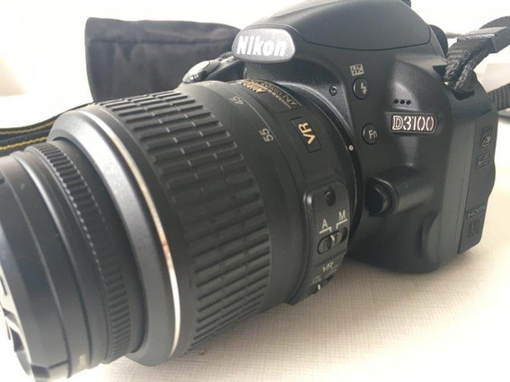Camera Digital Nikon Dslr D3100 - R$ 1799,00