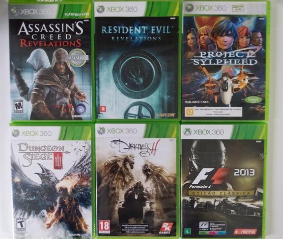 6 Jogos Originais Para Xbox 360