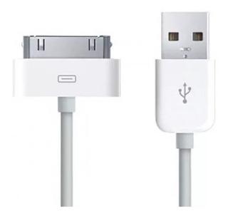 Cabo Usb iPhone 4 4s 3g 3gs iPad 1 2 3 iPod Nano Classic