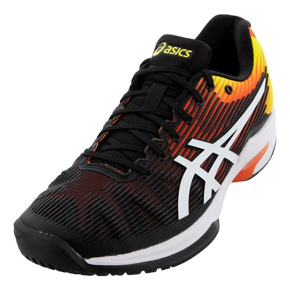 Tenis Masculino Asics Solution Speed Ff- Preto Original + Nf