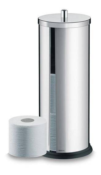 Porta Papel Higiênico Brinox Decorline 13x35cm